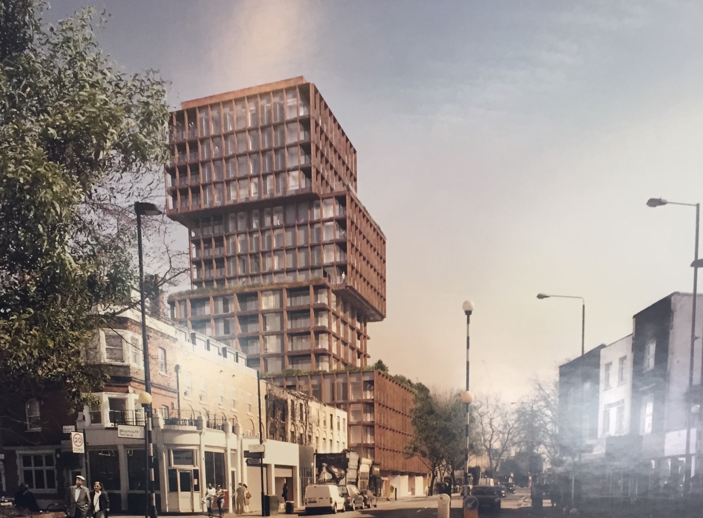 New building proposed on Hackney Rd