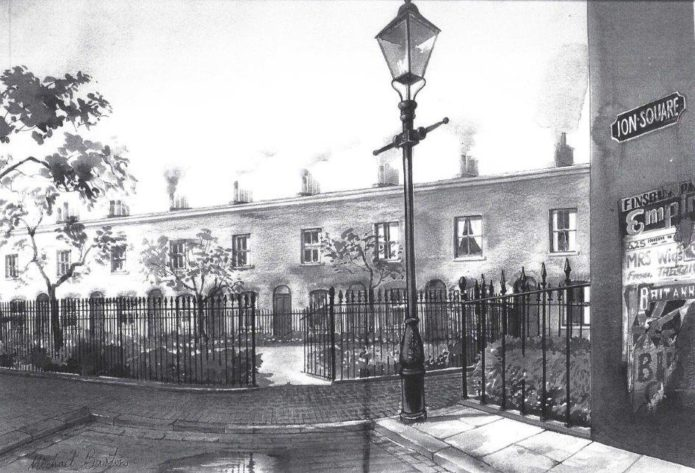 Ion Square by Michael Barton 1894
