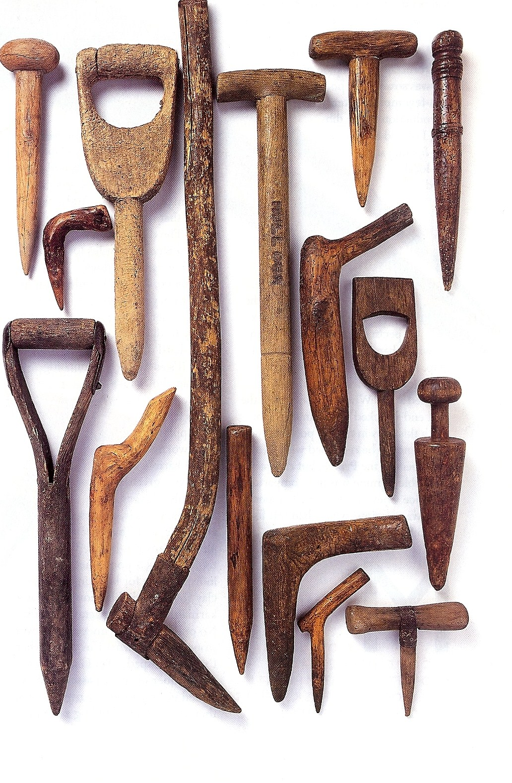 Garden tools from early American Gardens