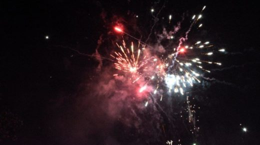 Fireworks Night on 8th November