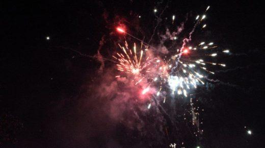 Fireworks Night on 8th November